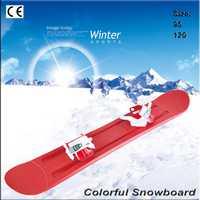 Los niños snowboard doble snowboard plásticos snowboard paja esquí Sandboarding