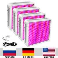 4 unids/lote 800 w creciente lámpara AC85 265 V 5730SMD lleno espectro LED crecimiento luces de Interior de efecto invernadero de frutas, verduras, hortalizas las plantas
