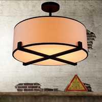 Nordic estilo Loft sala de lámpara de techo de comedor luz de la habitación de dormitorio de la mitad de las luces de techo DIA600MM envío gratis