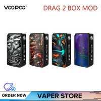 Original VOOPOO arrastrar 2 Caja Mod 177 W arrastrar 2 resina Vape Mod cigarrillo electrónico vaporizador del 117 W a mini caja Mod Kylin V2 Rta