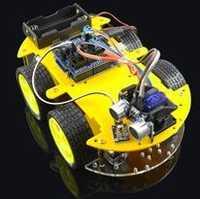 Multi-función Smart car kit Bluetooth chasis traje Tracking compatible uno R3 DIY RC Toy robot electrónico con 1602