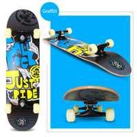Cuatro Ruedas de arce patineta Material de madera Freestyle Skate patin largo fresco Adolescente Adulto Patineta