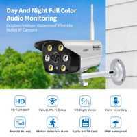 Cámara LOOSAFE vigilancia AP Hotspot Wifi movimiento cámaras al aire libre de la cámara de seguridad IP con visión nocturna Color onvif cámara IP WIFI