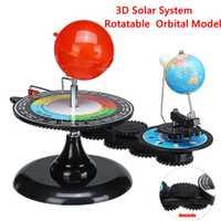 Système solaire Globes rotatif terre soleil lune planétarium Orbital modèle géographie astronomie Science éducation enseignement trousse d'outils