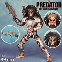 Película de 2018, último fugitivo depredador 33 cm figura de acción juguetes HC gran muñeca Scarface máscara F/NECA 12