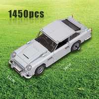 Compatible avec legoing Technique Série 10262 Aston Martin DB5 Ensemble blocs de construction Briques voiture enfants Modèle Cadeaux Jouets