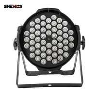 54x9 W RGB LED Par luz DMX etapa luces Par para fiesta KTV Disco de DJ de aleación de aluminio Y LED Par molino de viento de iluminación