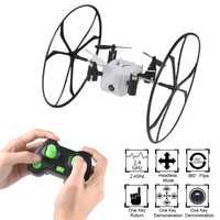 Mini Drone Helic Max Sky Walker 2,4 GHz 4CH bola RC Quadcopter 3D Flip de cabeza Drone con cámara juguete RC conjuntos 45