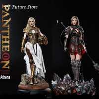 En existencia HS001/HS002 1/6 Aleación de fundición a presión PANTHEON-ATHENA/diosa de la sabiduría juego completo de figuras de acción modelo para los Fans colección regalos