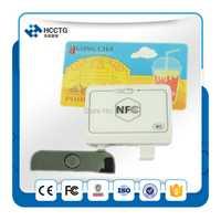 RFID NFC Lecteur de Carte MPOS untuk ponsel algoritma dan DUKPT kunci sistem + Anglais SDK Pour iOS Android Mobile Banque et paiement-ACR35