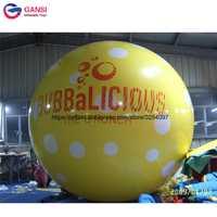 Publicidad inflable globo de helio/globo inflable decoración Bola de vuelo
