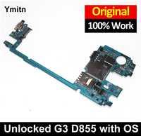 Ymitn débloqué testé G3 D855 panneau électronique Mobile carte mère Circuits MB pour LG G3 D855 D850 F460 F400 VS985