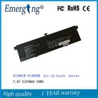 7.6 V 39WH 5107 MAH Nouvelle R13B01W R13B02W batterie d'ordinateur portable Pour Xiao mi mi D'air 13.3 pouces 161301-01 R13B01W R13B02W
