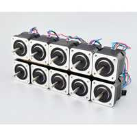 ¡10 piezas Nema 17 Motor paso a paso 42*40mm 45Ncm (64oz!) 2A Nema 17 paso a paso 42 Motor 4-plomo para DIY 3D impresora CNC Robot