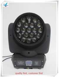 Envío Gratis 8 piezas led de cabeza móvil lavar zoom dj luz quad led de zoom de lavado led aura led cabeza 19x12 w