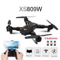 Caliente viso XS809W WIFI FPV plegable brazo FPV Quadcopter con 2MP 0.3MP Cámara 6 eje RC Drone juguetes RTF VS E58
