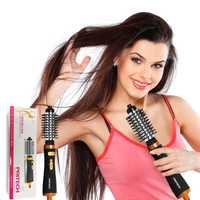 Pritech automática profesional secador de pelo peine 2 en 1 de Curling de hierro multifunción rizador de pelo de moda herramientas
