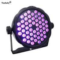 Tanbaby X 54X1 W LED luz de la etapa 54 W RGB DJ PAR luz DMX 512 de iluminación de escenario DMX512 Control para la casa Disco Club fiesta Bar