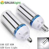 E40 E27 65 W LED Luz de maíz SMD5730 lámpara LED de maíz bombillas LED proyector lámpara de iluminación Lampada al aire libre luces industriales AC85-265V
