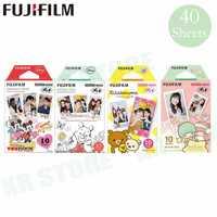 40 Fujifilm Mickey winnie + + Rilakkuma + Doble Estrella Fuji papel fotográfico instantáneo para Instax Mini 8 9 película 70 7 s 50 s 50i 90 25 compartir SP-1