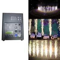 Led luces de escenario sin humo Sparkular frío fuegos artificiales fuente chorro de polvo 2-4 m Control remoto bodas máquina de niebla fiesta