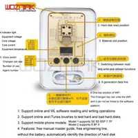 Wozniak WL PCIE NAND Flash ic chip para iphone SE 6 s 6sp 7 7 p PRO ard disk test repair instrument programador HDD Serial SN