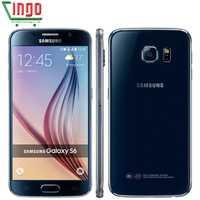 Samsung Galaxy S6/S6 borde G925F teléfono móvil Octa Core 3 GB RAM 32 GB ROM LTE 16MP Android 5,0 desbloqueado SmartPhone