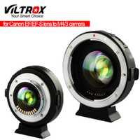 Viltrox EF-M2II vitesse Booster adaptateur Focal réducteur Auto-focus 0.71x pour Canon EF monture objectif à Panasonic Olympus M43 caméra
