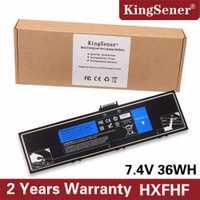 KingSener nuevo HXFHF batería del ordenador portátil para Venue 11 Pro (7130) 11 Pro (7139) 11 Pro 7140 HXFHF VJF0X 7,4 V 36WH 2 años de garantía