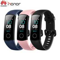 100% Huawei Original Honor banda 4 pulsera inteligente Amoled Color 0,95