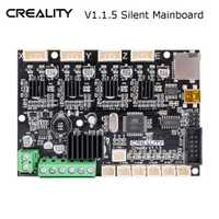 Fuente de fábrica Original Creality 3D nueva actualización placa base silenciosa 1,5 para impresora Ender-3/Ender-3Pro 3D