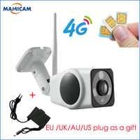 Full HD 960 P HD IP cámara inalámbrica GSM 3G tarjeta SIM 4G Wifi de la cámara IP al aire libre resistente al agua CÁMARA DE cctv de la visión nocturna IR P2P