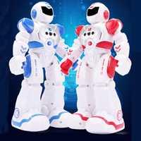 RC Robot de juguete niño inteligente Control remoto Robot con cantar baile figura de acción juguetes para niños de los niños de cumpleaños regalo nuevo