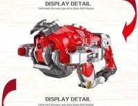 2 en 1 balas suaves pistola y transformación Robot dinosaurio Juguetes Divertidos aleación Airsoft Air Guns mejor regalo el envío libre para los niños