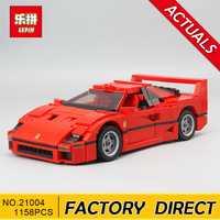 Educativos 21004 Ferrarie F40 deportes modelo de coche bloques de construcción Kits de ladrillos juguetes Compatible con 10248