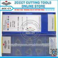 Insertos de envío gratis ZCC insertos de roscado ISO métrica hilo grueso de 60 grados tipo fino