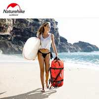 Naturehike impermeable natación bolsa seca al aire libre ciclismo bolsas de almacenamiento playa deriva río Trekking bolsa 40/60/90/ 120L NH16T002-S