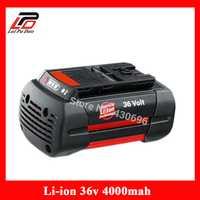 36 v 4.0Ah Li-Ion batería de herramienta de poder de reemplazo para Bosch 2 607, 336, 108, 2 607, 336 de 108 BAT810 BAT836 BAT840 D-70771