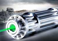 AAA nuevo puntero láser verde 5 w 5000 m LED linterna ardiente enfoque 532nm... láser haz militar quemar negro encuentro globo pop + 5 gorras