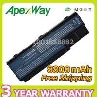Apexway 12 celdas 8800 mAh batería del ordenador portátil para Acer Aspire 5739 de 5739G 5910G 5920 de 5920G 5930 de 5930G 5935, 5940 de 5940G 5942 de 5942G 6530G