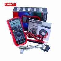 UNI-T UT61E multímetro Digital auto de la gama de verdadero valor eficaz RMS de valor de pico RS232 REL AC/DC el amperímetro uni t UT 61E multímetro