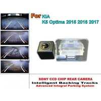 Para KIA K5 optima 2015 2016 2017 pistas de estacionamiento inteligente reverse backup cámara HD back up Cámara inversa/trasero cámara de visión