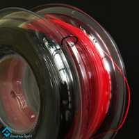 Powerti 2 carretes/lote Hexagonal 1,25mm cuerda de raqueta de tenis giro superior 200m carrete poliéster raqueta de entrenamiento