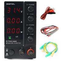 NPS306W/3010 W/605 W/1203 W réglable 30 V/60 V/120 V 3A 5A 6A 10A laboratoire DC alimentation à découpage 0.1 V/0,01a/0.01 W