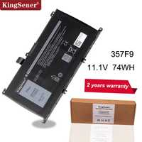 KingSener 11.1 V 74WH 357F9 Batterie Pour Dell Inspiron 15-7000 7559 7557 7566 7567 5576 INS15PD-1548B INS15PD-1748B INS15PD-1848B