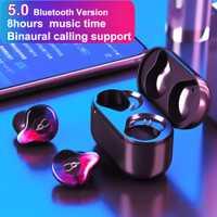 Sabbat X12 Pro inalámbrica Bluetooth auriculares V5.0 auriculares gemelos auriculares con caja de carga de auriculares Bluetooth inalámbrico auriculares