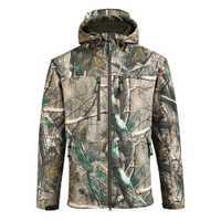 SAENSHING impermeable caza chaqueta hombres chaqueta de Softshell camuflaje táctico chaquetas de hombre de lana suave al aire libre de camuflaje traje de pesca