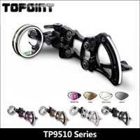 Arco compuesto-aguja de la palanca de ajuste vista TP9510 camuflaje de Tiro con Arco equipo arco y flecha equipo