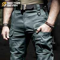 2018 Nouveau IX5 tactique pantalon Cargo hommes occasionnels Pantalon Combat SWAT Army active Militaire travail Coton Pantalons masculins hommes
