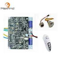 Maxfind Poweful 1000 W DIY Motherboard de Motor único y Dual con control remoto y Kit de Motor de unidad de bricolaje para Longboard eléctrico